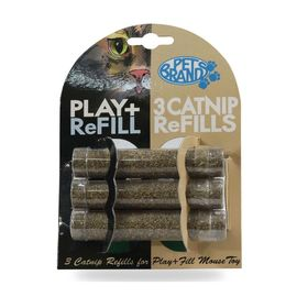 Pet Brands UK Play & Fill Refillable Cat Nip, universal