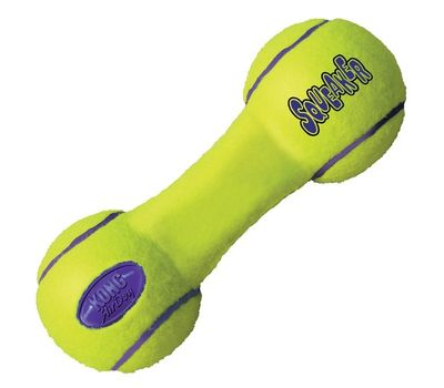 Kong AirDog Dumbbell Squeaky Toy, 6 inch