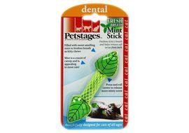 Petstages Fresh Breath Mint Stick Cat Toy, green