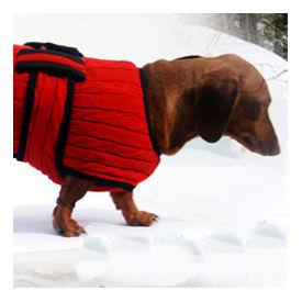 Zorba Designer Premium Winter Sweater for Large Breed Dogs, blue, 26 inch