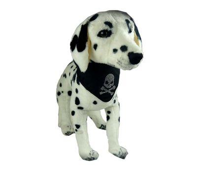 Puppy Love Crystal Rhinestone Bandana for Small to Medium Dogs, black