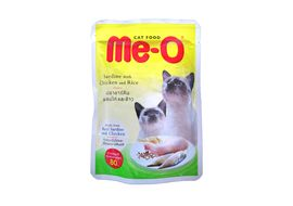 Meo Sardine with Chicken and Rice Gravy Cat Food, 80 gms