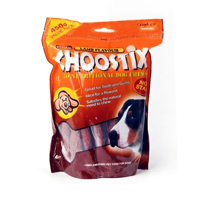 Stylam Choostix Lamb Dog Treat, 450 gms