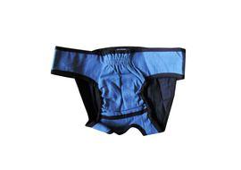 Zorba Washable Diaper for Medium Dogs, medium, blue