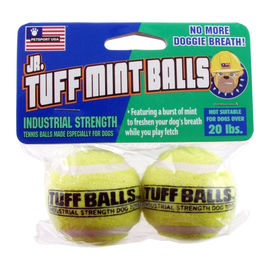 Petsport USA Junior Tuff Mint Balls, 2 inch