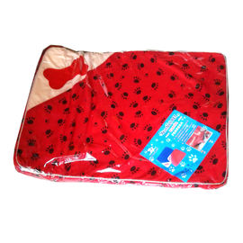 Nunbell Pet Thick Foam Cushion Bed, 30 x 23 inch, red