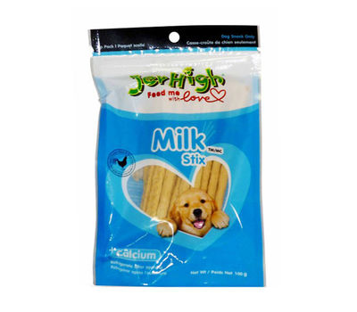 JerHigh Milk Stix Dog Treat Snack, 100 gms