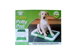 Perfect Pet Puppy Dog Potty Training Pad Tray, 18 inch