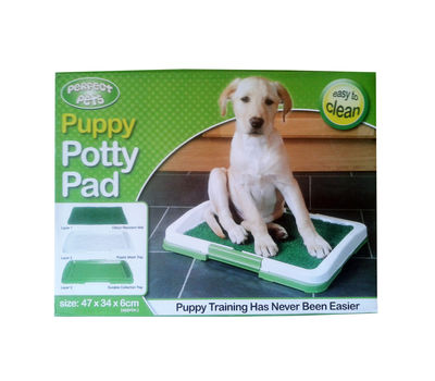 Perfect Pet Puppy Dog Potty Training Pad Tray, 18 inch