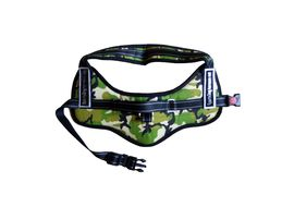 GP Padded Military Reflective Sports Dog Harness Set for Large Dogs, camouflage, large
