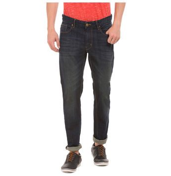 INDEX DR BLUE Slim Fit Solid Jeans,  blue, 32