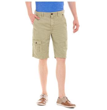 POTTER DESSERT GREEN Slim Fit Solid Shorts,  green, 28