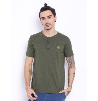 Breakbounce Fergal Red T-Shirt,  olive, xxl