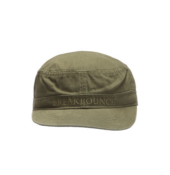 Breakbounce Walfisch Men's Cap,  olive green, 56/58