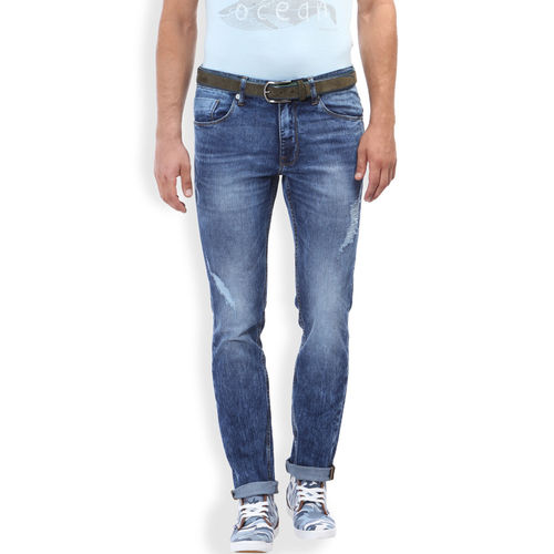 Breakbounce Sango Indigo Slim Fit Casual Men s Denim,  indigo blue, 30