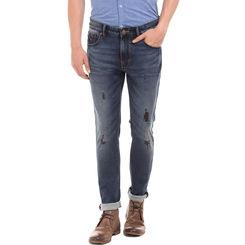 VINE LT BLUE Skinny Fit Solid Jeans,  blue, 30