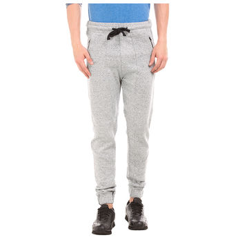 MYERS Grey Grindle Slim Fit Solid Jogger,  grey, 38