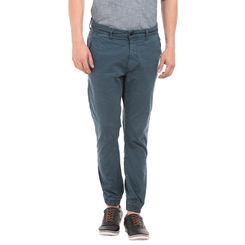 DIXON NAUTICAL BLUE Slim Fit Solid Jogger,  blue, 34