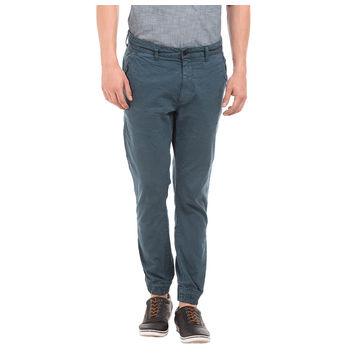 DIXON NAUTICAL BLUE Slim Fit Solid Jogger,  blue, 28