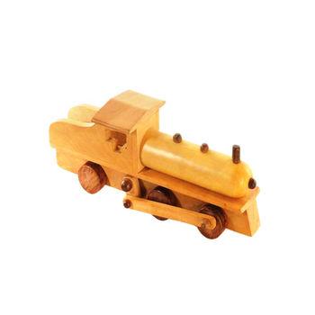 Wooden Toys - Steam Engine, regular
