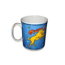 Zodiac Sign Ceramic Coffee Mug - Aries, regular