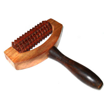 Wooden Hand Massager with Cutter Rod, regular
