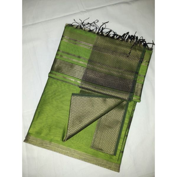 Pure Maheswari Cotton Silk Saree 22