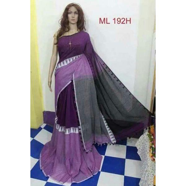 Madhyamoni Khadi Cotton Sarees Directly from Weavers 14