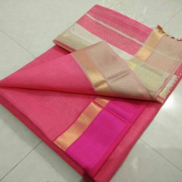 Pure Maheswari Cotton Silk Saree 40