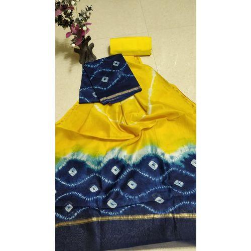 Chanderi Silk Salwar Suit-5