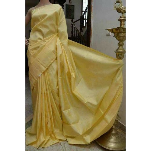 Bishnupuri Silk Saree in Solid/Plain Colours 15