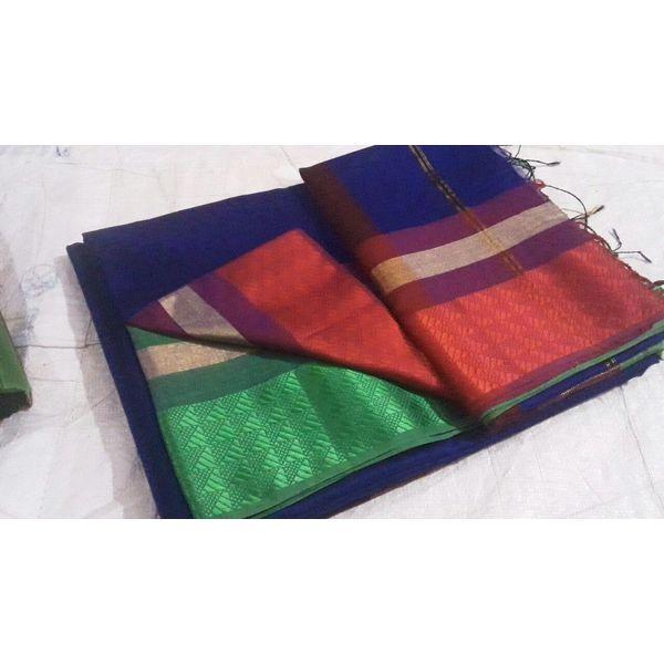 Pure Maheswari Cotton Silk Saree 30