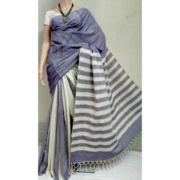 Pure Cotton Khes Saree 5