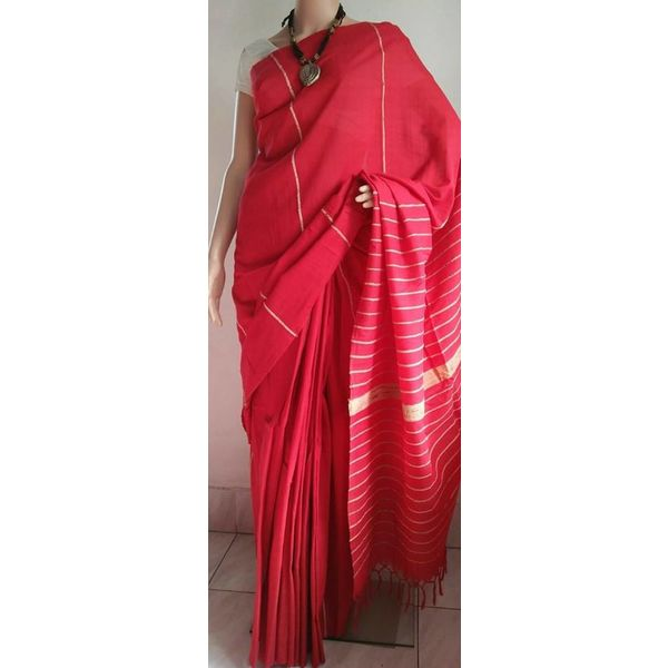 Pure Cotton Khes Saree 15