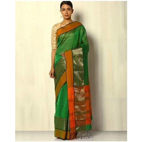 Pure Maheswari Cotton Silk Saree 61