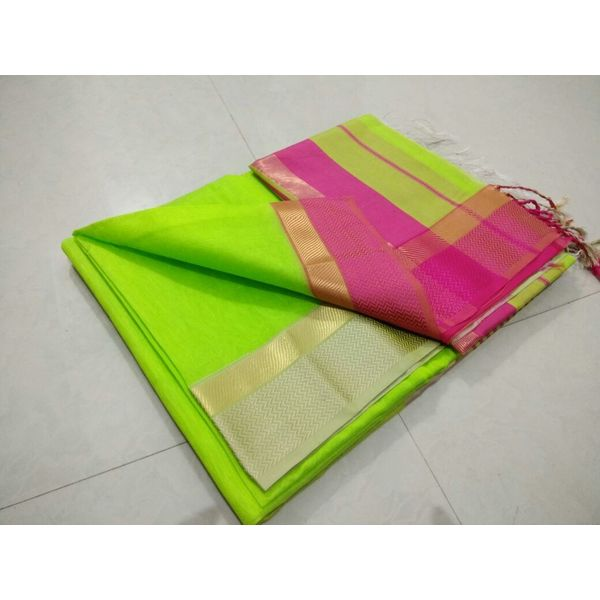 Pure Maheswari Cotton Silk Saree 42