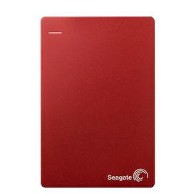 Seagate 1TB Backup Plus Slim External Hard Disk (Red)