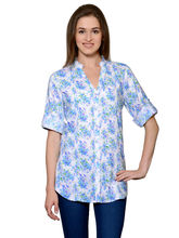 Patrorna Multicolor Designer Tunics With Rollup Sleeve Pintex And Nehru Collar (6PA016MCPB), xl