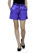 Patrorna Hand Made Fabrics Royal Blue Shorts (8PA03RB), 26