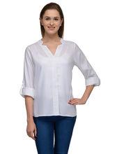 Patrorna White Designer Casual Shirt (6PA023WH), 2xl