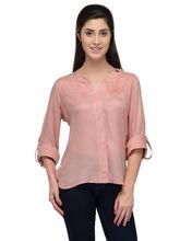 Patrorna Peach Designer Casual Shirt (6PA023PC), m