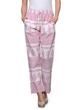 Patrorna Pure Cotton Printed Pyjama (8PA05PKWH), 30