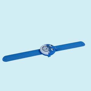 Kids' Analog Slap Watch, Easy To Wear, Easy To Remove, Suitable For Promotional Gifts, plastic, 24   2.5 cm,  blue