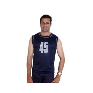 Sleveless Nylon Jersy for Men - XL, xl,  black