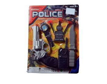 Police Force Gun Set