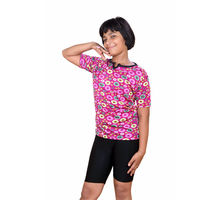 Pink T-shirt With Slack for Girls, l