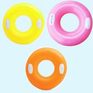 Bright Floresent Color Swim Tube with Handle,  white, 25   16.8   3.5 cm, plastic