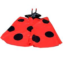 Beetle Raincoat for Kids - Set of 4, multicolor