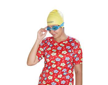 Blue Swimming Goggle