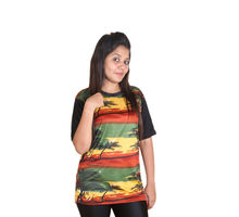 Goa Print T-shirt for Women, xl